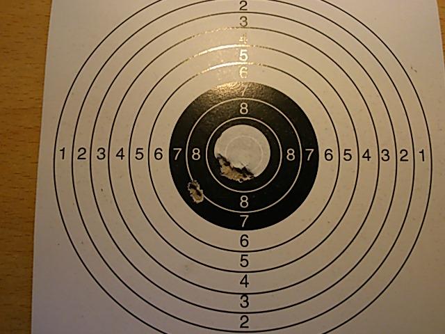 Mes 1er carton avec ma première carabine .... Dsc_0115