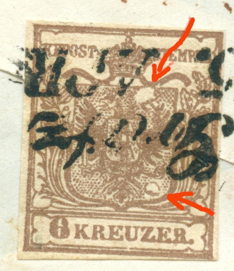 Die erste Österreichische Ausgabe 1850 - Seite 7 1850_611
