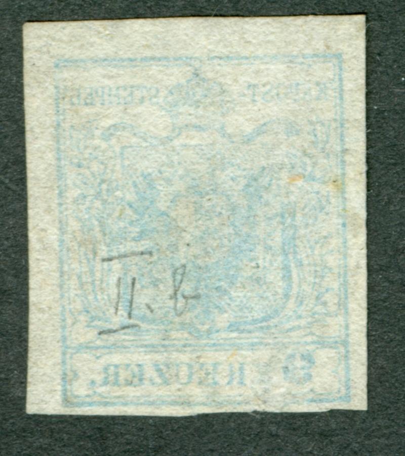 Die erste Österreichische Ausgabe 1850 - Seite 7 1850_911