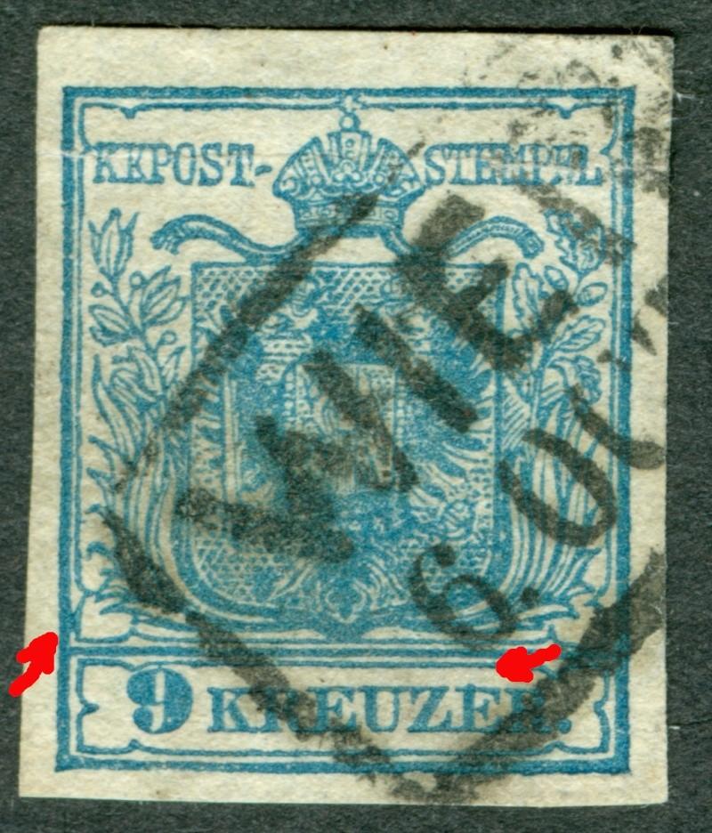 Die erste Österreichische Ausgabe 1850 - Seite 7 1850_912