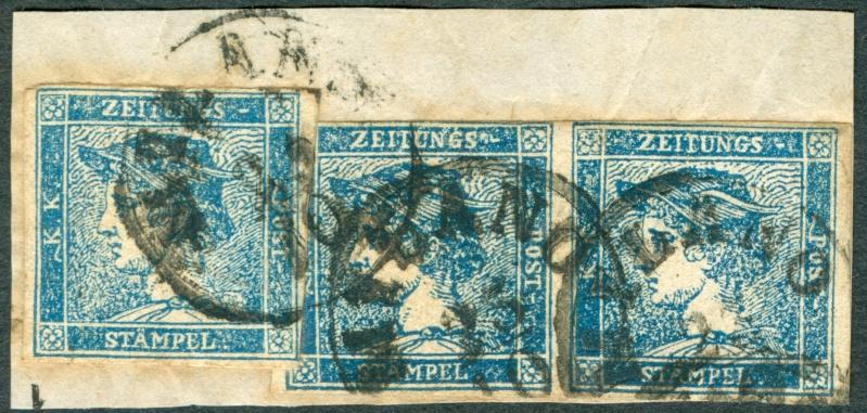 DIE ZEITUNGSMARKEN AUSGABE 1851 1851_310