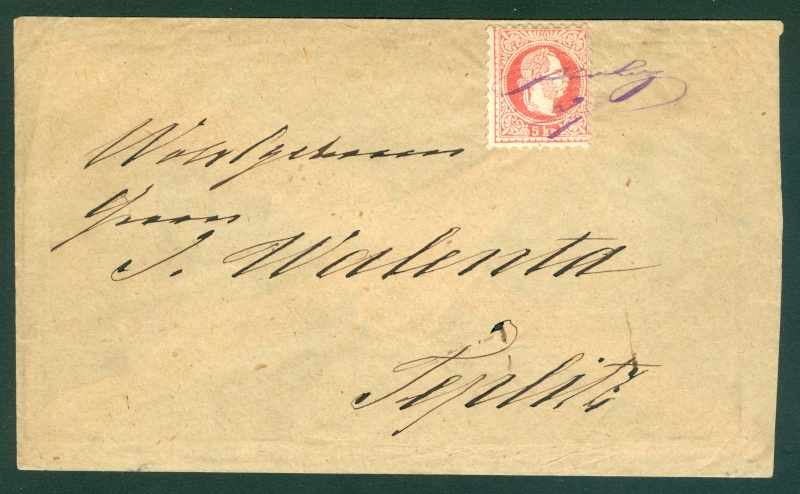 Freimarken-Ausgabe 1867 : Kopfbildnis Kaiser Franz Joseph I - Seite 11 1867_p10