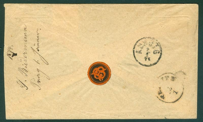 Freimarken-Ausgabe 1867 : Kopfbildnis Kaiser Franz Joseph I - Seite 11 1867_p11
