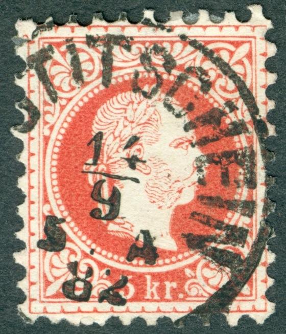 Freimarken-Ausgabe 1867 : Kopfbildnis Kaiser Franz Joseph I - Seite 10 1867_s10