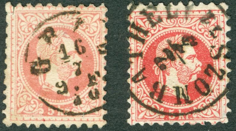 Freimarken-Ausgabe 1867 : Kopfbildnis Kaiser Franz Joseph I - Seite 10 Ohren_10