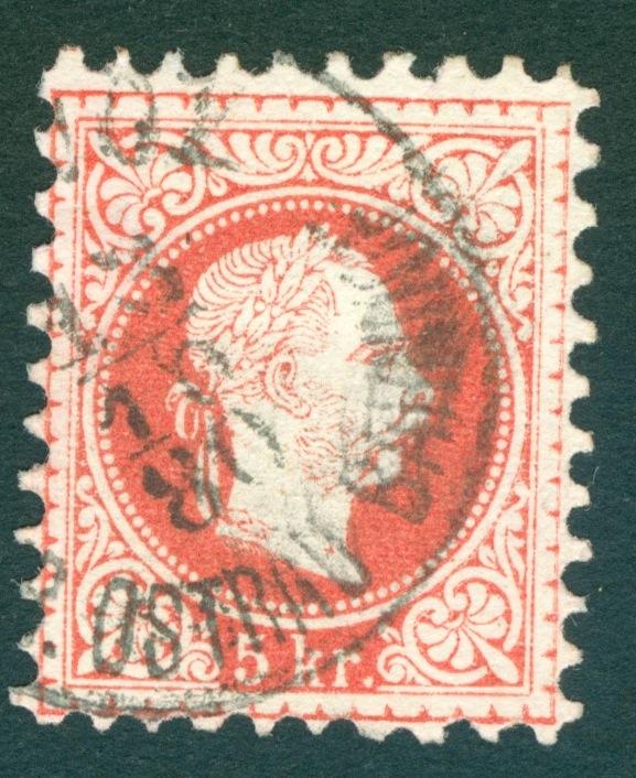 Freimarken-Ausgabe 1867 : Kopfbildnis Kaiser Franz Joseph I - Seite 10 Ostrau10