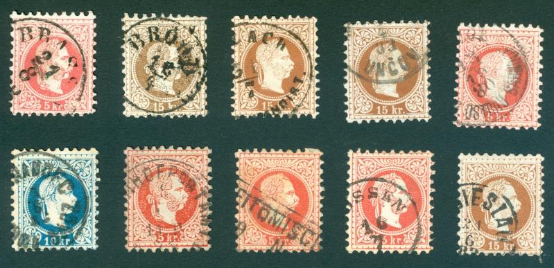 Freimarken-Ausgabe 1867 : Kopfbildnis Kaiser Franz Joseph I - Seite 10 Stempe10