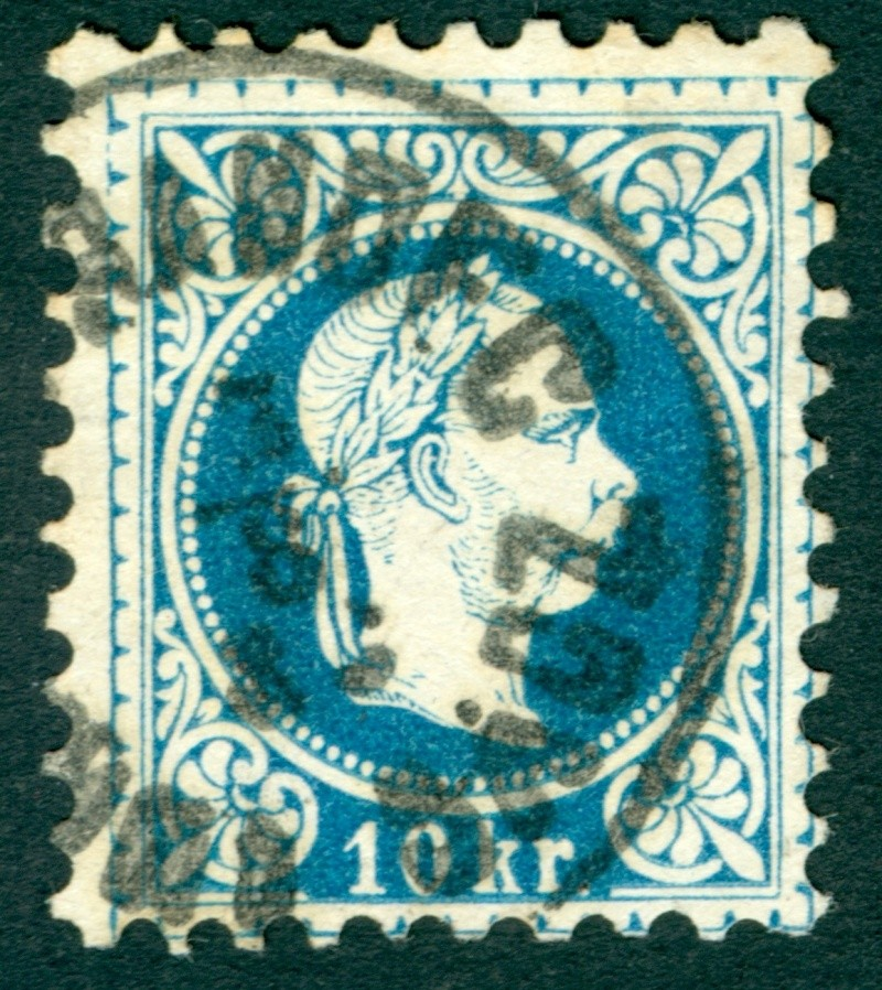 Freimarken-Ausgabe 1867 : Kopfbildnis Kaiser Franz Joseph I - Seite 10 Stempe11