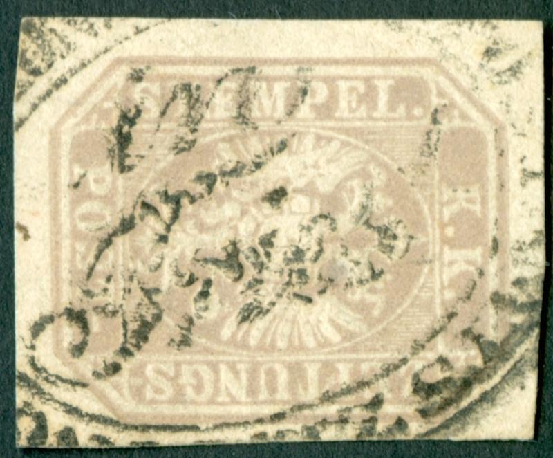 DIE ZEITUNGSMARKEN AUSGABE 1863 Zeitun10