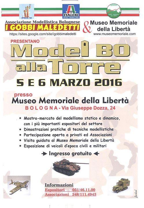 Model BO alla Torre - 5 / 6 marzo 2016 - Bologna 20160115