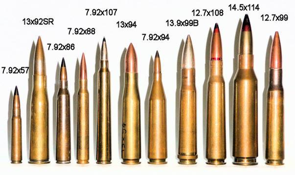 Munizionamento 88 mm 43/71 50bmg10