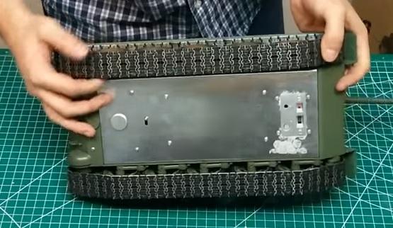 T34/85 Full-Metal con elettronica Taigen T34sot10