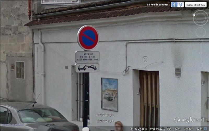 Street View : Les infractions au code de la route Pano10