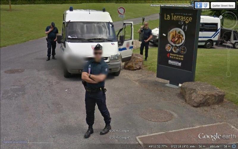 Street View : Les infractions au code de la route - Page 2 Police10