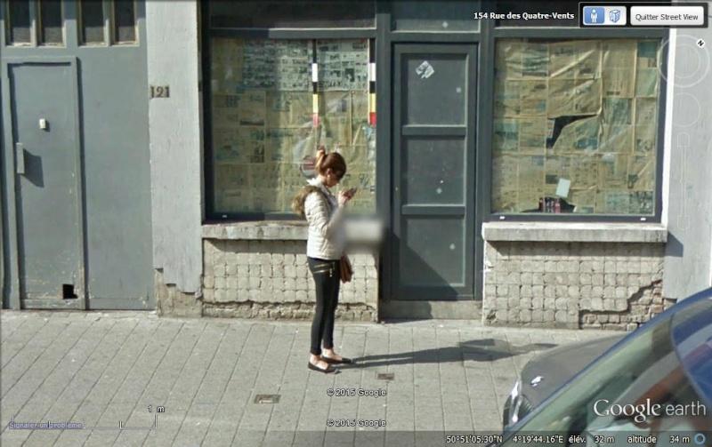 STREET VIEW : pris deux fois par la google car  Tel110