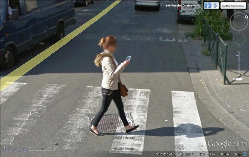 STREET VIEW : pris deux fois par la google car  Tel210