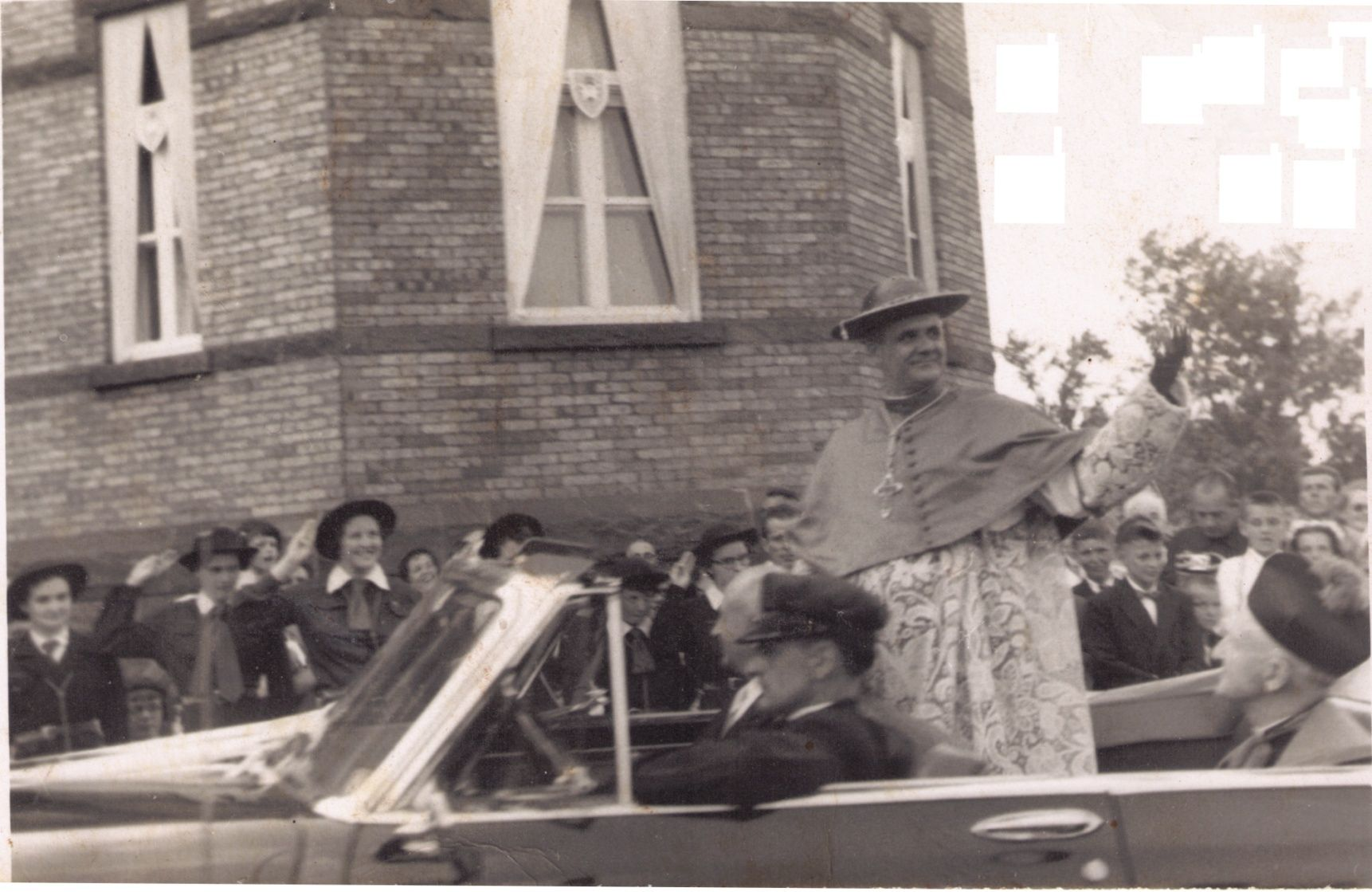 Léger, Son Excellence le Cardinal Paul-Émile Léger, en visite à Rimouski  Cardin10
