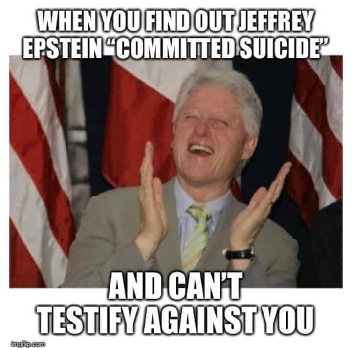 "Jeffrey Epstein ""počinio samoubojstvo"" Bill10"