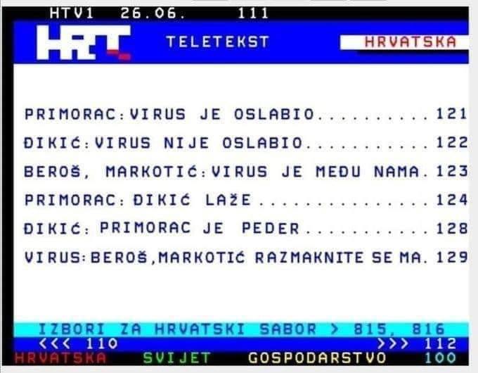 Unatoč skoku zaraženih HDZ otvara granicu sa Bosnom, kažu da će je zatvoriti odmah posli izbora  - Page 2 Meme10