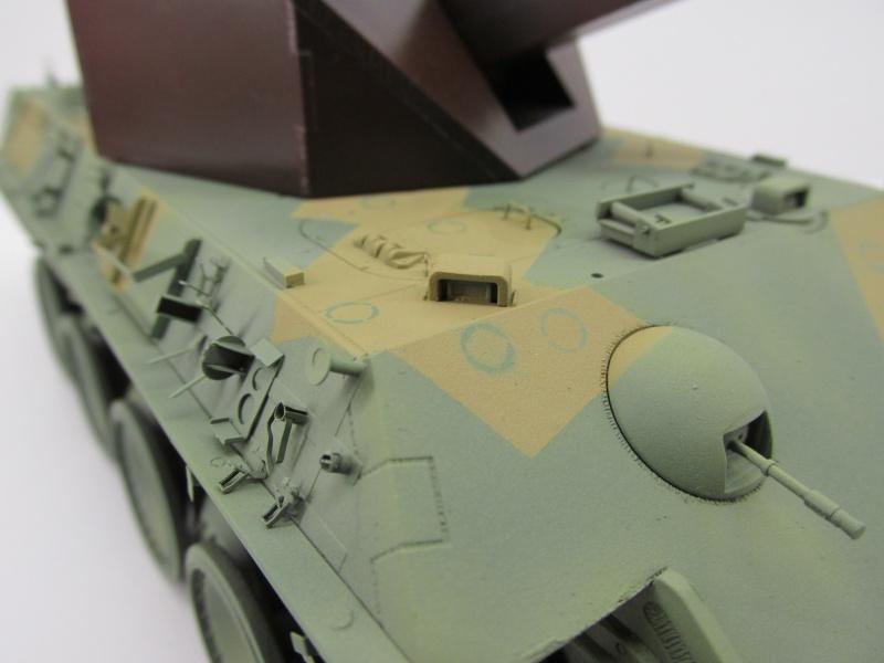 Flakpanzer V Coelian - Dragon 1/35 ref 9022 - photodécoupe Eduard Coelan19