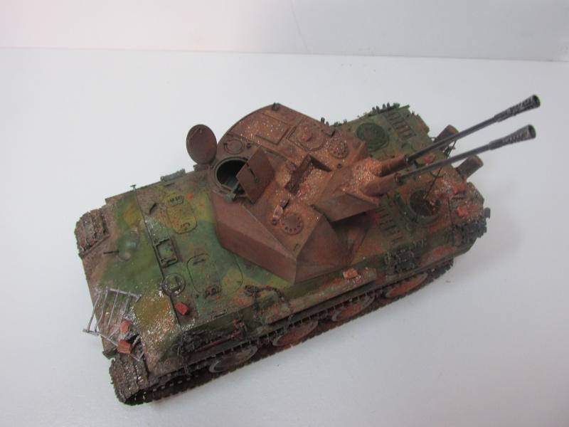 Flakpanzer V Coelian - Dragon 1/35 ref 9022 - photodécoupe Eduard - Page 10 Flakp121