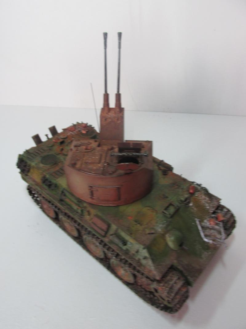 Flakpanzer V Coelian - Dragon 1/35 ref 9022 - photodécoupe Eduard - Page 10 Flakp122