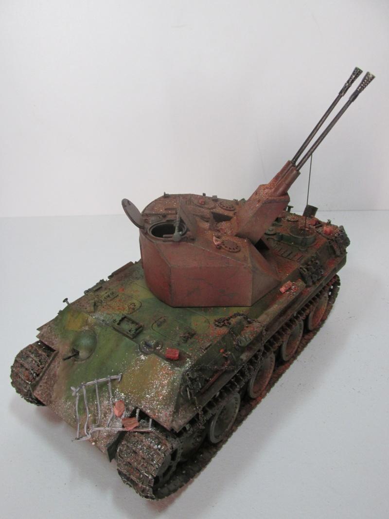 Flakpanzer V Coelian - Dragon 1/35 ref 9022 - photodécoupe Eduard - Page 10 Flakp123