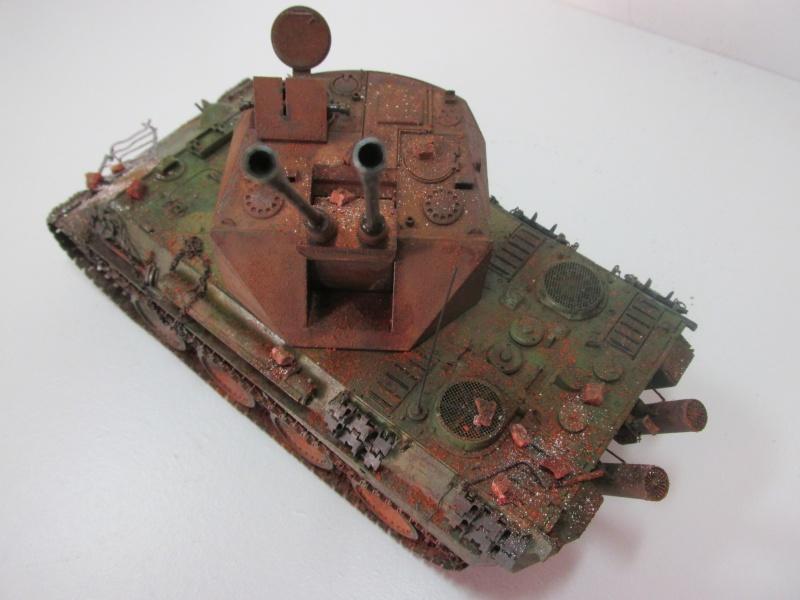 Flakpanzer V Coelian - Dragon 1/35 ref 9022 - photodécoupe Eduard - Page 10 Flakp125