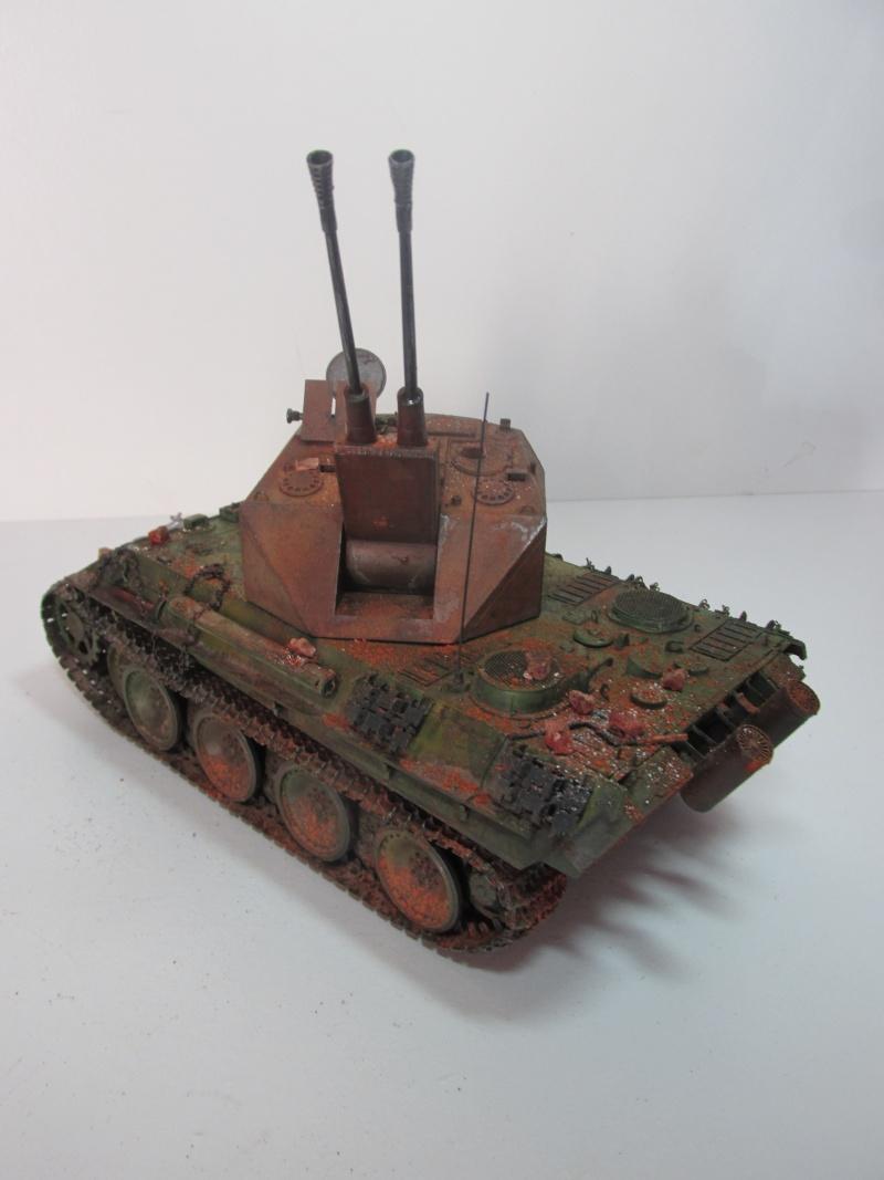 Flakpanzer V Coelian - Dragon 1/35 ref 9022 - photodécoupe Eduard - Page 10 Flakp129