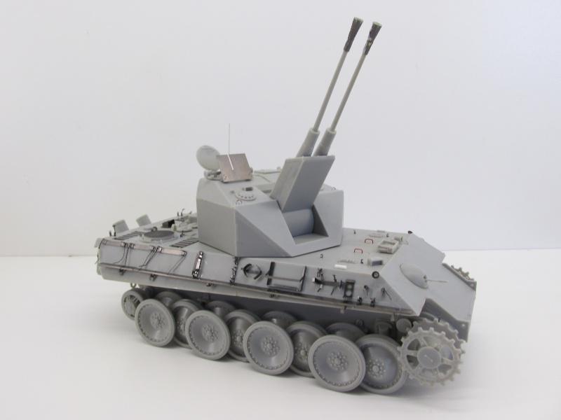 Flakpanzer V Coelian - Dragon 1/35 ref 9022 - photodécoupe Eduard Flakpa44