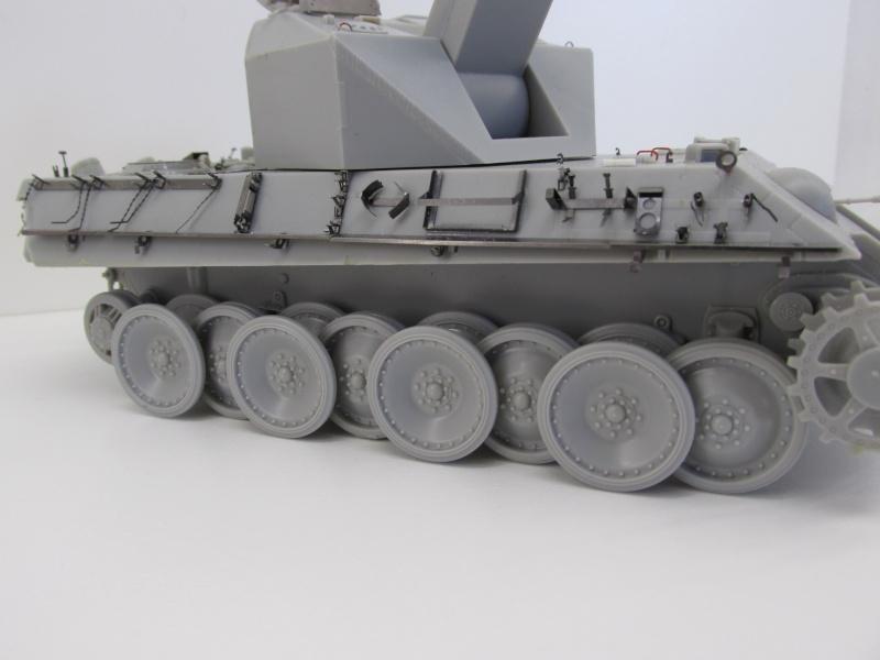 Flakpanzer V Coelian - Dragon 1/35 ref 9022 - photodécoupe Eduard Flakpa45