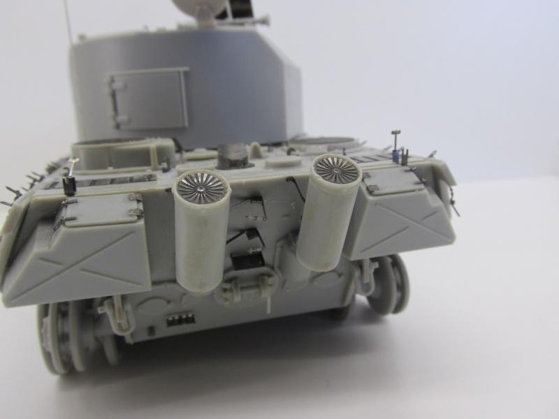 Flakpanzer V Coelian - Dragon 1/35 ref 9022 - photodécoupe Eduard Flakpa49