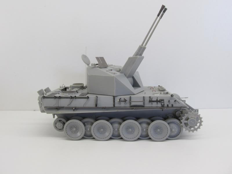 Flakpanzer V Coelian - Dragon 1/35 ref 9022 - photodécoupe Eduard Flakpa50