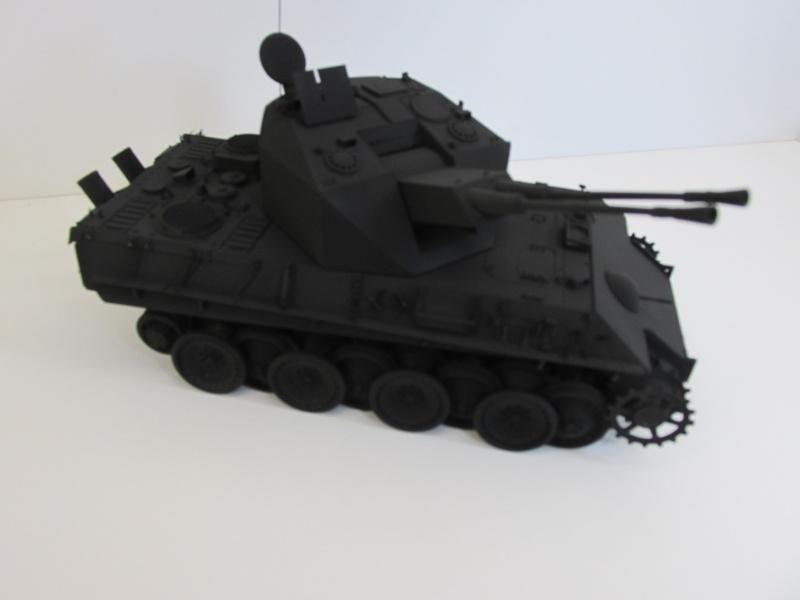 Flakpanzer V Coelian - Dragon 1/35 ref 9022 - photodécoupe Eduard Flakpa54