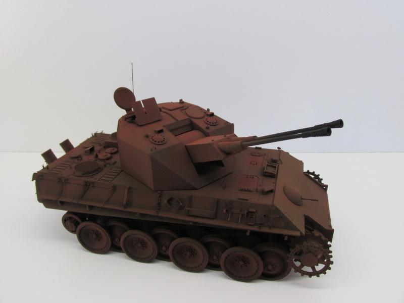 Flakpanzer V Coelian - Dragon 1/35 ref 9022 - photodécoupe Eduard Flakpa55