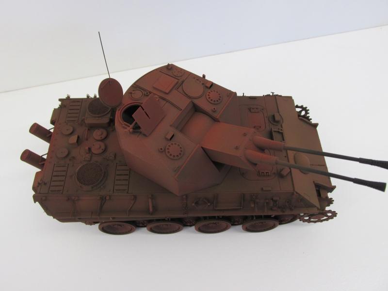 Flakpanzer V Coelian - Dragon 1/35 ref 9022 - photodécoupe Eduard Flakpa56