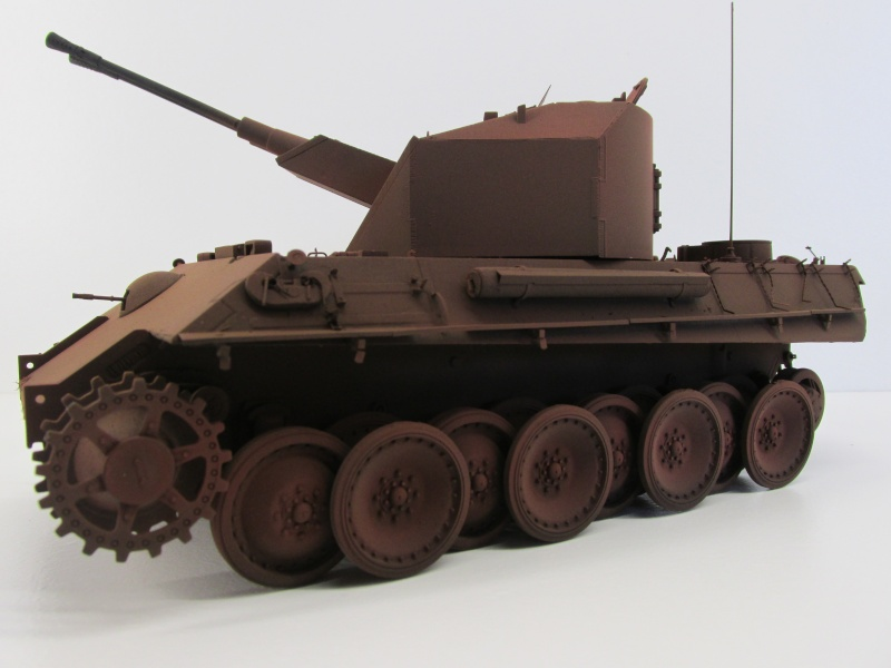 Flakpanzer V Coelian - Dragon 1/35 ref 9022 - photodécoupe Eduard Flakpa58