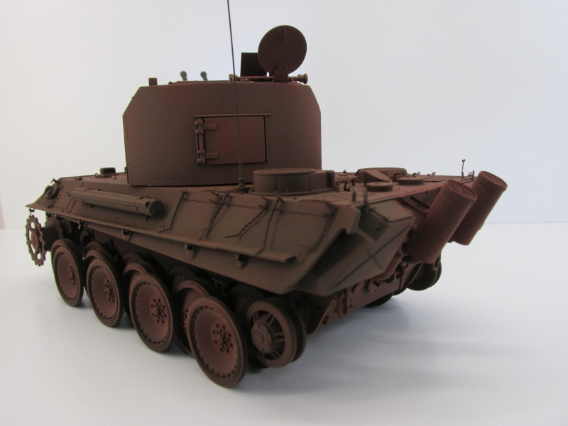 Flakpanzer V Coelian - Dragon 1/35 ref 9022 - photodécoupe Eduard Flakpa59
