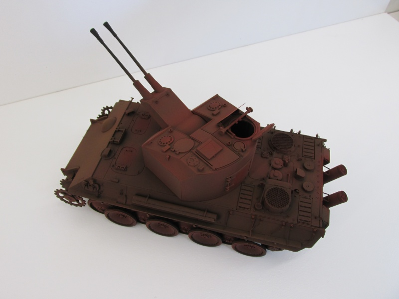 Flakpanzer V Coelian - Dragon 1/35 ref 9022 - photodécoupe Eduard Flakpa60