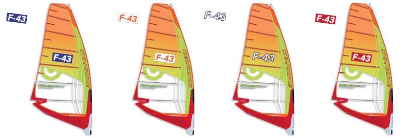 Numéros Voiles - Kit Adhésif F43-210