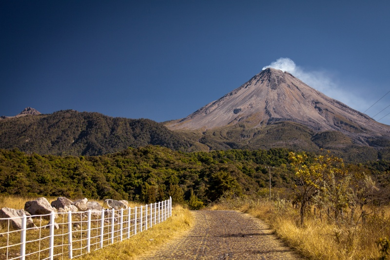 Colima Volcano Hike Volcan12