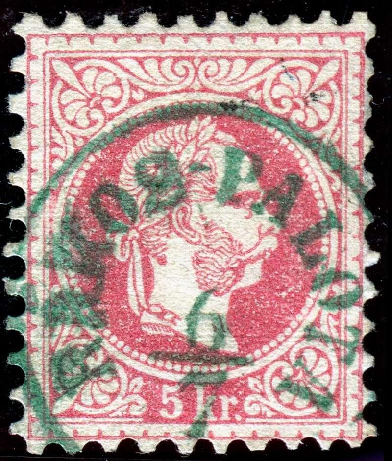 Freimarken-Ausgabe 1867 : Kopfbildnis Kaiser Franz Joseph I - Seite 11 1558_g10