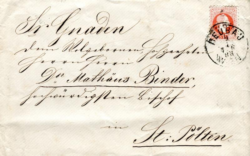Briefe oder Karten von/an berühmte oder bekannte Personen Binder10