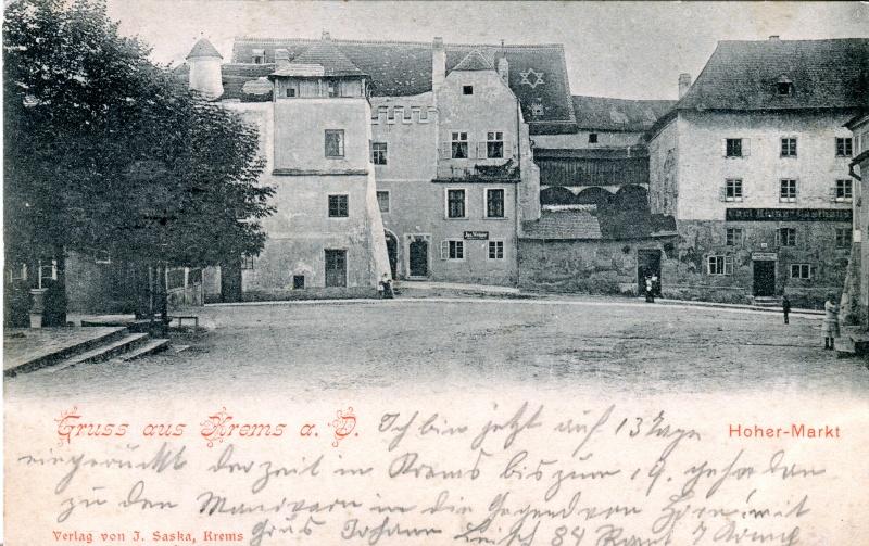 Versch. Ansichtskarten Krems110