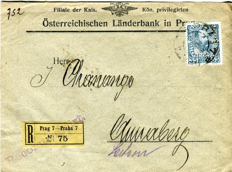 Briefe / Poststücke österreichischer Banken - Seite 3 Lynder10
