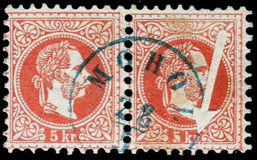 Freimarken-Ausgabe 1867 : Kopfbildnis Kaiser Franz Joseph I - Seite 10 Mohol12