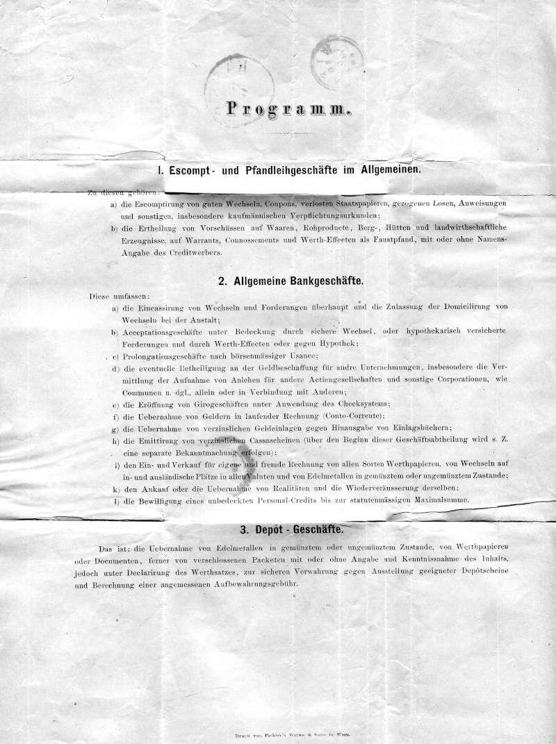 Briefe / Poststücke österreichischer Banken - Seite 3 Xx11711