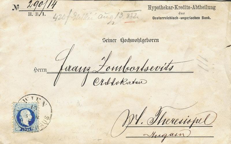 Briefe / Poststücke österreichischer Banken - Seite 3 Xx15610