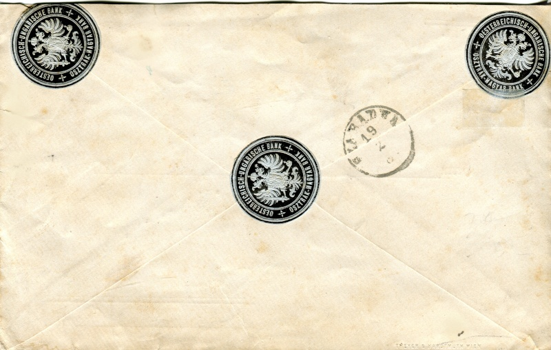 Briefe / Poststücke österreichischer Banken - Seite 3 Xx15710
