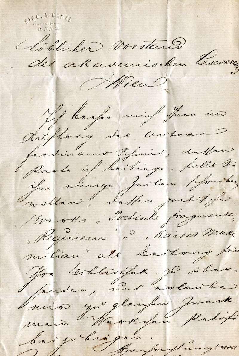 Briefe oder Karten von/an berühmte oder bekannte Personen - Seite 2 Xx18010